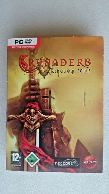 Crusaders Thy Kingdom Come (Windows  PC 2006) - Box Edition